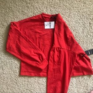 Still packaged Forever 21 Fiery Red Crop Top